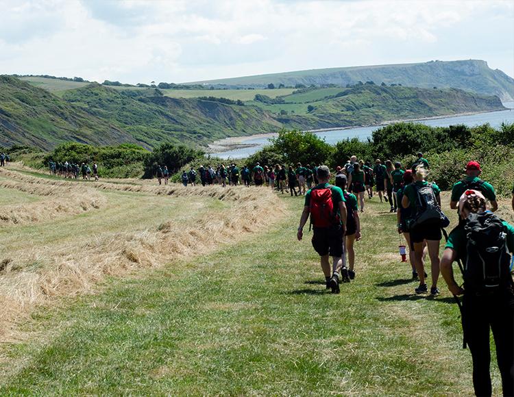 Dorset Walk is incredible success (August 2017)