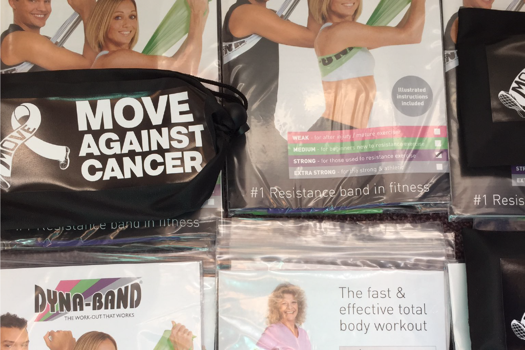 Move Against Cancer Donation